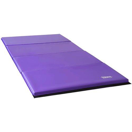 Purple And Pink Gymnastics Mat: Pink Adjustable Horizontal Kip Bar And 8ft Purple