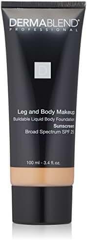 Dermablend Leg and Body Makeup Liquid Foundation  20n Light Natural, 3.4 Fl. Oz