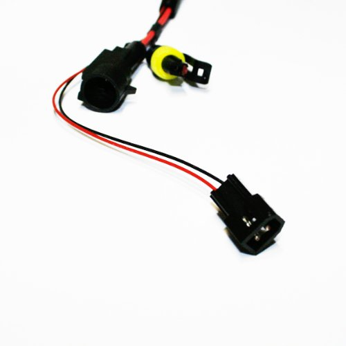 Innovited 35W HID Xenon Bi-xenon Hi//Lo Dual Beam Replacement Bulbs With Relay Harness Controller H13 9008-6000K