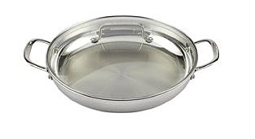 Cuisinart MCP25-30DCH MultiClad Pro 12''Everyday Pan w/Glass Cover