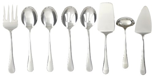 (Cambridge Silversmiths Opulence Mirror 8-Piece Hostess Set)