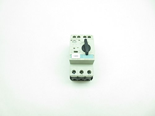 (SIEMENS 3RV1021-0JA10 SIRUS 3R Manual Motor Starter 0.7-1A AMP 3P D590334)