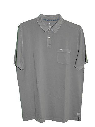Tommy Bahama Bahama Reef Golf Polo Shirt (Color: Baja Shark, Size ()