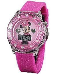 Disney Minnie Mouse Light up Pink Digital Watch by Disney
