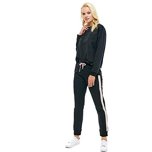 A996 L O84q13fl01i Pantalon Jeans Mujer Guess Nero vYnXRBx