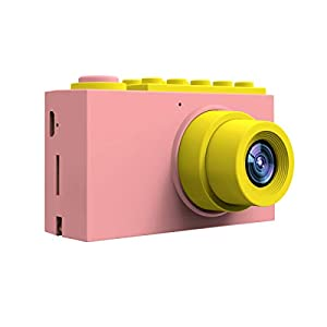 MAGENDARA Kids Digital Camera HD 1080P Children Camera 2.0 Inch Screen Toy Camera Girls Birthday Pink