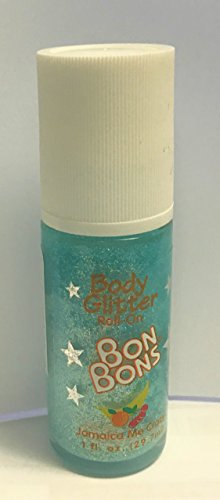 Lot of 9 - BonBons Roll-On Body Glitter - Jamaica Me Crazy by Bonbons
