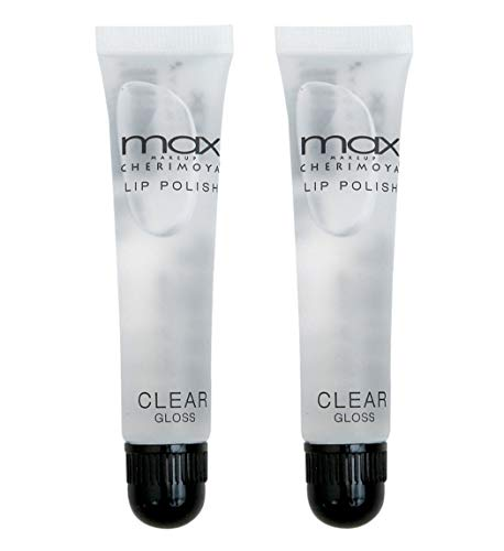 Cherimoya MAX Makeup Clear Lip Polish (2 Pieces)