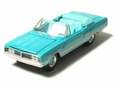1966 Custom Dodge Hemi Coronet 1/64 Green 2 Tone