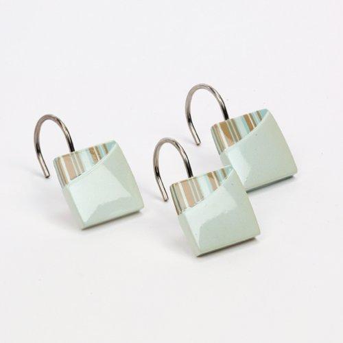 Avanti Linens By The Sea Shower Hooks, ()