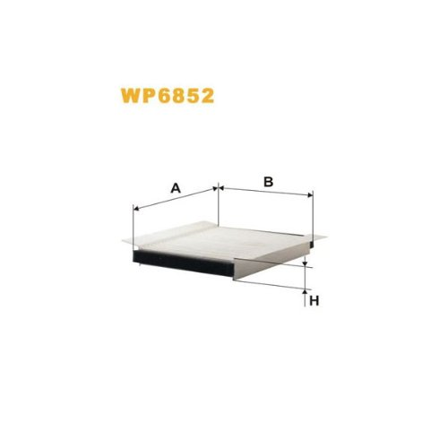 Wix Filters WP6852 Cabin Air Filter: