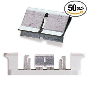 RiteAV - 66 Block Bridge Clips (50 Pack)