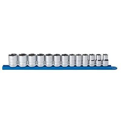 """GEARWRENCH 13 Pc. 1/2"""" Drive 6 Point Standard Metric Socket Set - 80702: Home Improvement"""