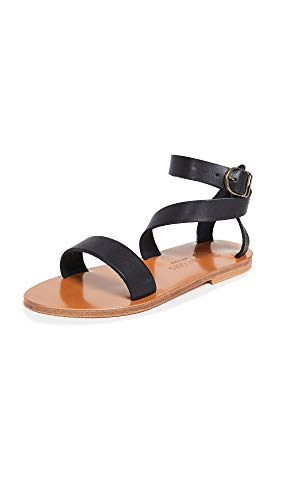 K. Jacques Women's Cagliari Sandals, Pul Noir, 36 M for sale  Delivered anywhere in USA