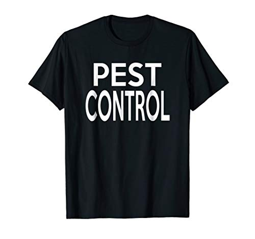 Pest Control Couples Halloween Costume T-shirt]()