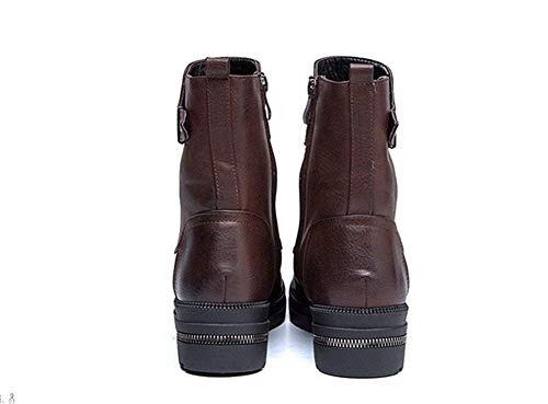 A Shoes Eu Strap And Ladies Sed Of Buckle Casual Barrel Students Boots 37 gp07Xq