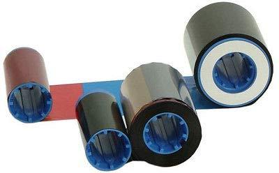 Color P430i Zebra (FidgetFidget Zebra Card Printer with True Color Ribbon YMCKO 800015-440 200P330i P310i P430i)