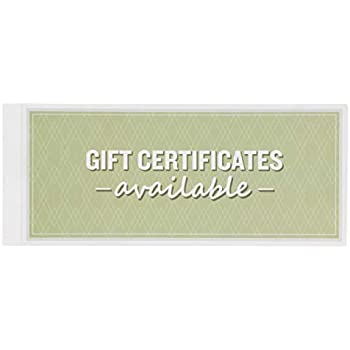 amazon com best paper greetings 50 sheet gift certificate book