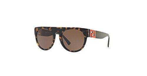 Sunglasses Versace VE 4333 523173 HAVANA WHITE - Sunglasses White Versace