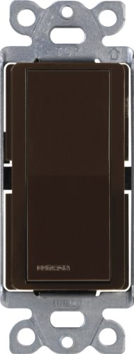 Lutron CA-4PS-BR Diva 15 A 4-Way Switch, Brown