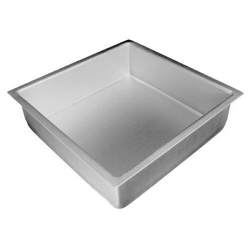 Fat Daddios Anodized-Aluminum Square Cake Pan, 8 inch H x 8 inch L x 2 inch W