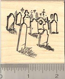 Cemeteryラバースタンプ   B003VP421O