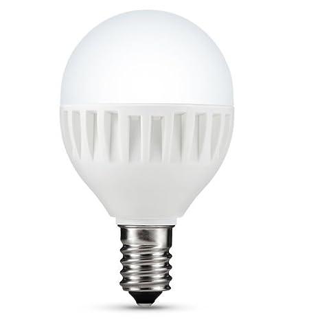 LG LED Bombilla P45 Bombilla E14 4 W, 2700 K, eficiencia energética: A +: Amazon.es: Iluminación