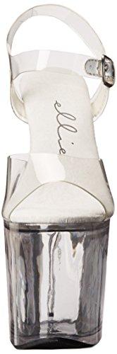 para Mujer 821 Ellie Shoes Sandalias Transparente CtwqrIq5