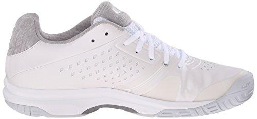 ASICS Damen Gel-Court Bella Tennisschuh Weiß / Silber / Weiß