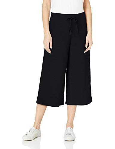 - Amazon Brand - Daily Ritual Women's Terry Cotton and Modal Culotte Pant, Navy, X-Large