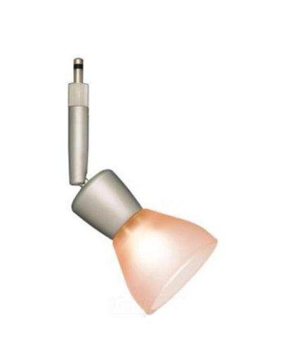 Alfa Lighting SP328-CHR-PNK Gemini Quick Jack Directional Low Voltage MR16 Lampholder, Chrome with Mini Dome G28 Pink Glass ()
