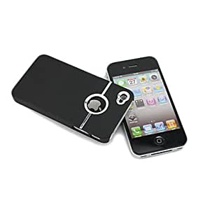 Hard electroplate case Chrome Cover Case for Iphone 4/4S --- COLOR:Pink