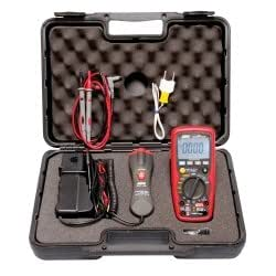 Premium Automotive Digital Multimeter with IR Thermometer Tools Equipment Hand Tools