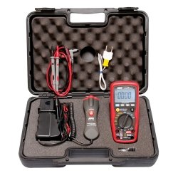 Premium Automotive Digital Multimeter with IR Thermometer Tools Equipment Hand Tools by Electronic Specialties
