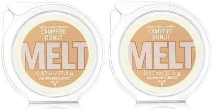 Bath and Body Works 2 Pack Campfire Donut Fragrance Melt. 0.97 Oz / 27.5 g