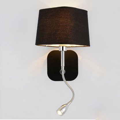 Nclon Wall Lamps Bedroom Bedside Reading Lamp Simple Modern Northern