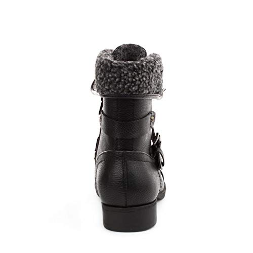 Womens in Black Up Black Lace Boot Lilley Detail AUwSAx