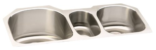 Elkay Lustertone ELUH3920 Triple Basin Undermount Kitchen Sink