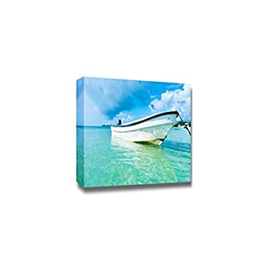 Beautiful Scenery Landscape of San Andres Island at The Caribbean Colombia South America - Canvas Art Wall Art - 24