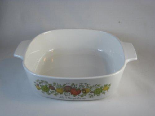 Vintage Corningware Spice of Life 2 Qt Casserole Dish P-2-b (Corelle Ceramic Casserole)
