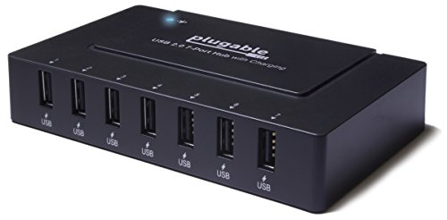 Plugable 7 Port Speed Charging Adapter