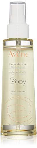 Eau Thermale Avene Skin Care Oil, Dry, Quick Absorbing Multi-Use Moisturizer for Hair & Body, 3.3 - Body Care Skin Oil