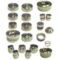 Brake Lathe Adapter Kit For Most Cars, Light Trucks, And 1/2 Ton Vehicles, 21 Piece Set ()