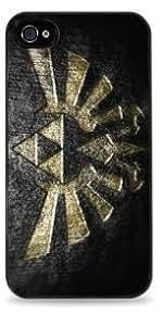 Big Triforce -The Legend of Zelda Apple iPhone 6 (4.7 inch) i6 Silicone Case - Black- 557