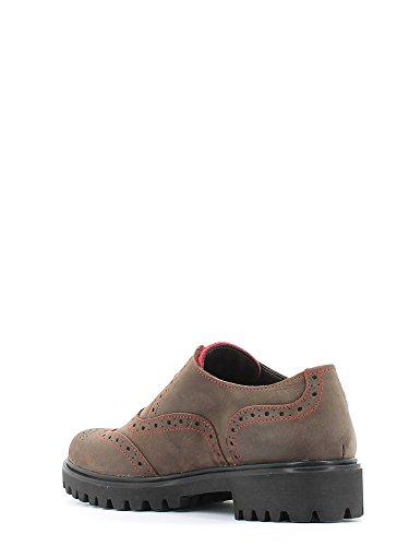 Mujer Byblos Zapatos Para De Marrón Blu Cordones xXXOgSq