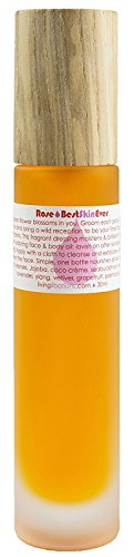 Living Libations - Organic/Wildcrafted Best Skin Ever: Rose Oil (1.7 fl oz / 50 ml) (Best Skin Ever Oil Cleanser)