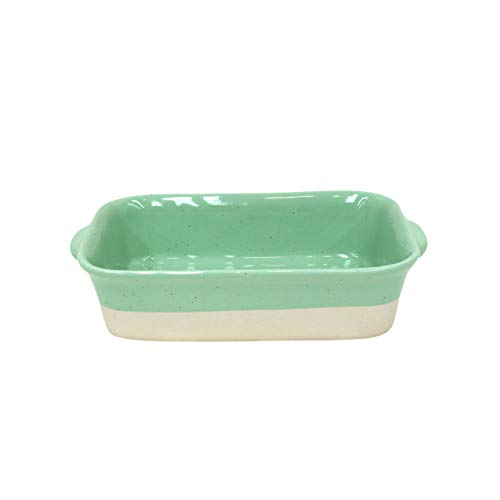 Casafina Fattoria Collection Stoneware Ceramic Small Rectangular Baker 10.75