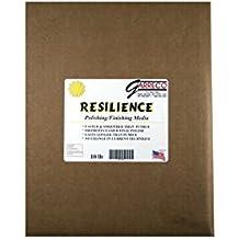 Garreco 2019010 Dental Resilience Acrylic Finishing Abrasive Media, Pumice Substitute, 10 lb Jar
