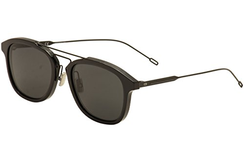 DIOR HOMME Men CD BLACKTIE227S 52 Sunglasses - Dior Sunglasses Black Christian Tie