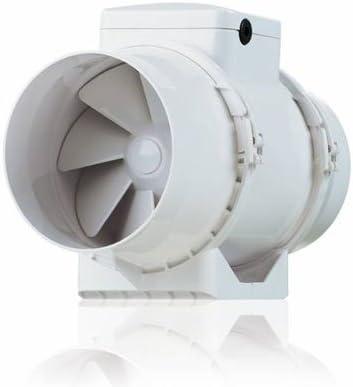 Extractor de Aire Con Ventilador Silencioso Vents BIturbo 12, 5 cm ...